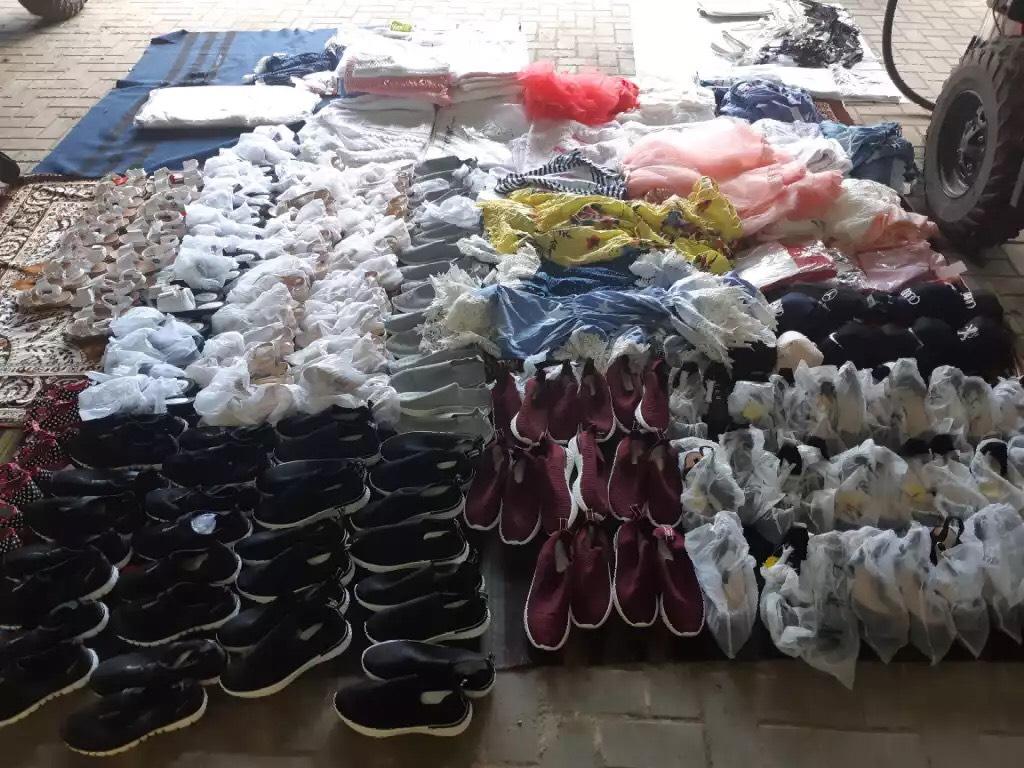 FOTO | O femeie din orașul Rîșcani riscă o amnedă de peste 7 mii de lei pentru contrabandă cu papuci