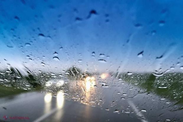 Meteorologii anunță ploi cu descărcări electrice în Nordul țării