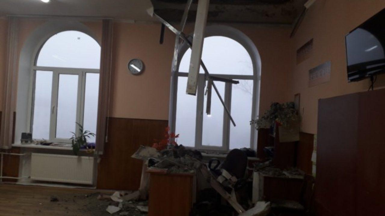 UPDATE // S-a prăbușit tavanul într-o sală a unei școli din Bălți