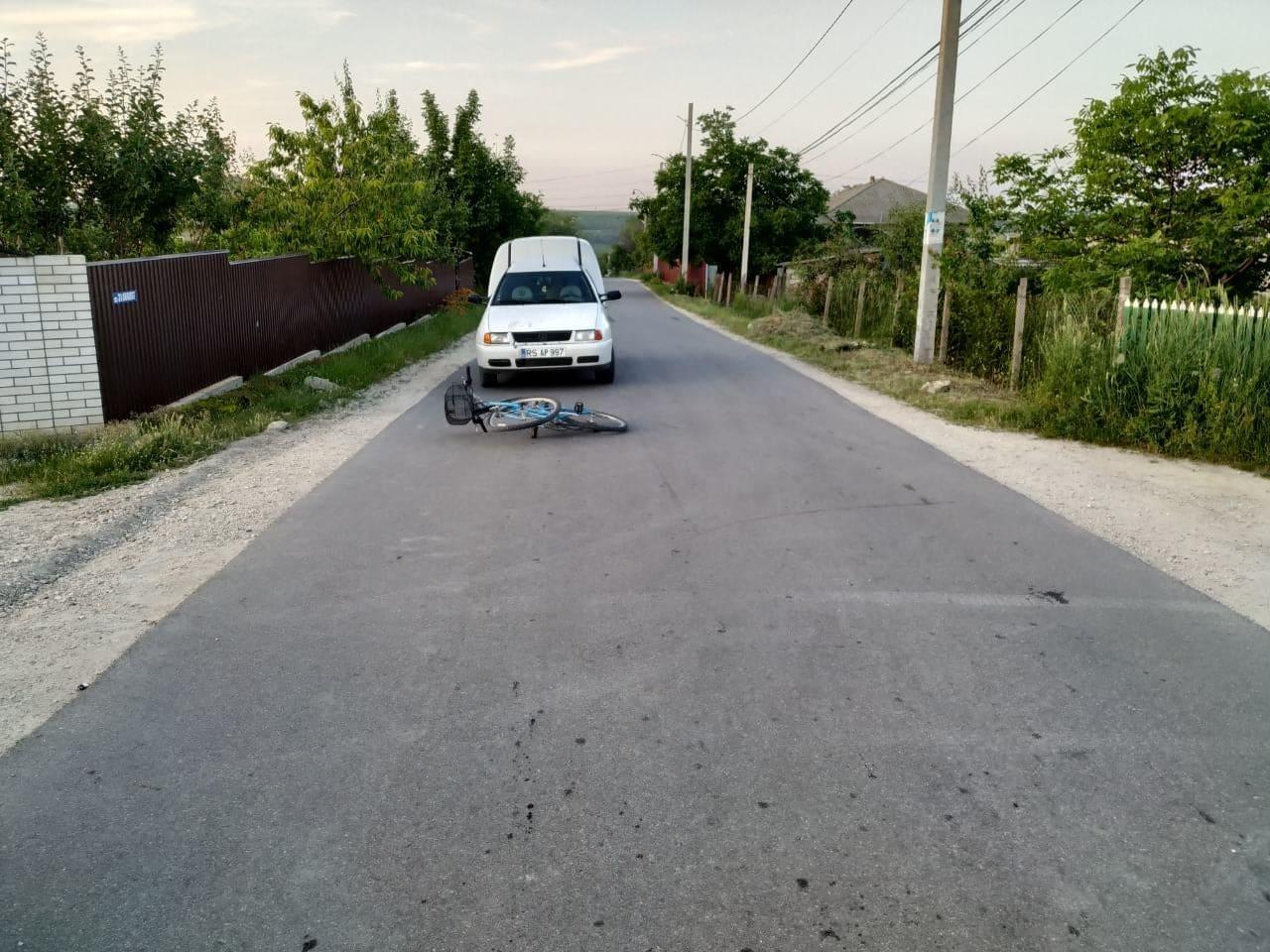 Doi bicicliști din Râșcani au ajuns la spital, după ce au provocat accidente rutiere