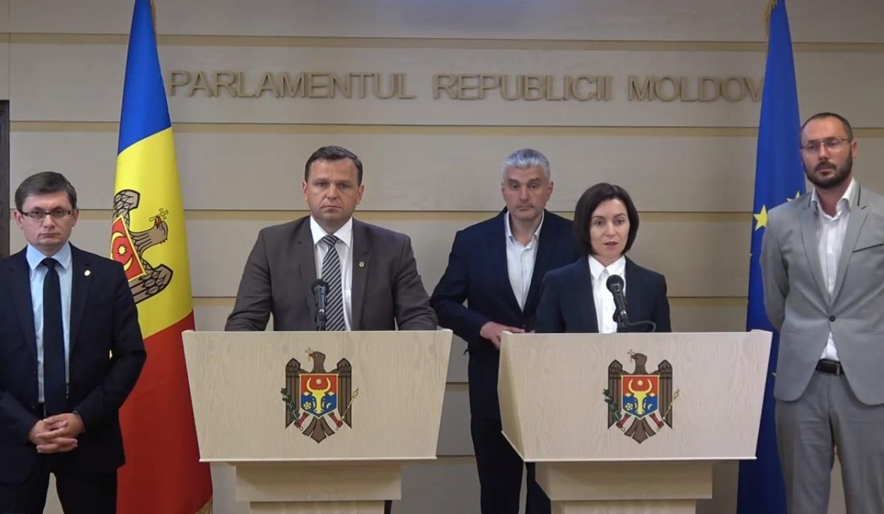 Declarațiile liderilor Blocului ACUM după discuțiile cu PSRM