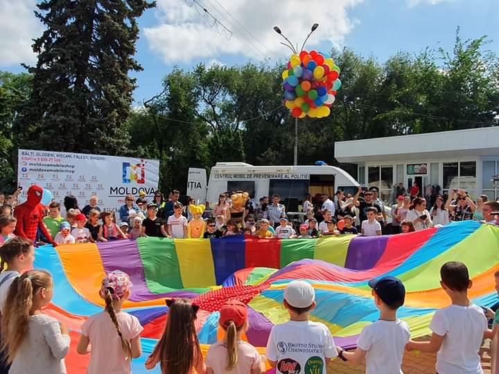 La Bălți s-a sărbătorit Ziua Internațională a Copiilor