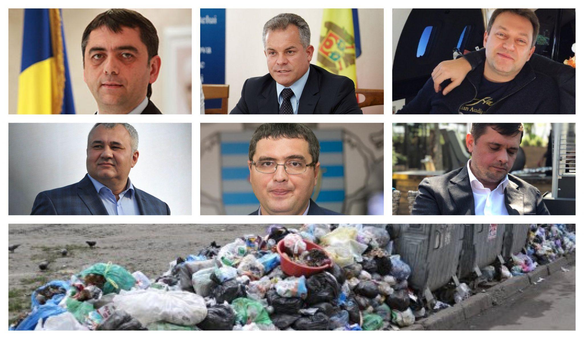 """Cum Plahotniuc, Iaralov și Vitiuc s-au jucat de-a """"criza gunoiului"""" la Bălți cu Usatîi și Grigorișin"""