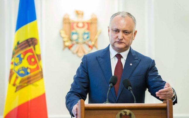 Președintele Dodon a promulgat legea privind anularea sistemului electoral mixt