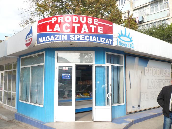 Jaf de proporții la Bălți: Hoții au furat dintr-un magazin de produse lactate 400 de mii de lei