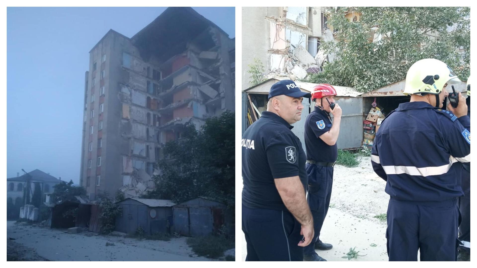 FOTO | Blocul avariat din Otaci va fi demolat