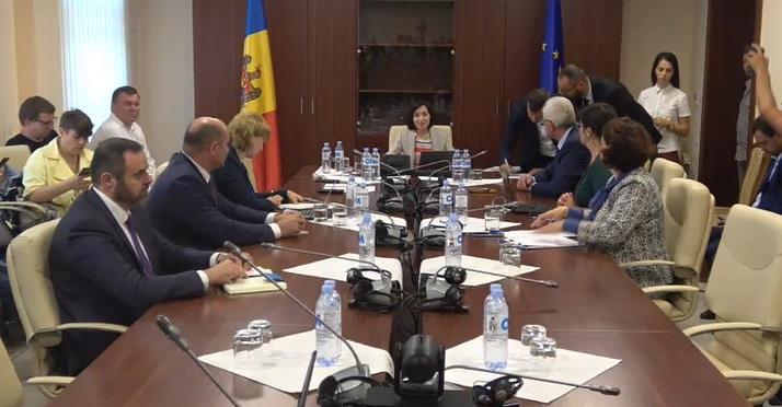 Guvernul Sandu demite șeful IGP, Alexandru Pînzari; Gheorghe Balan îi ia locul
