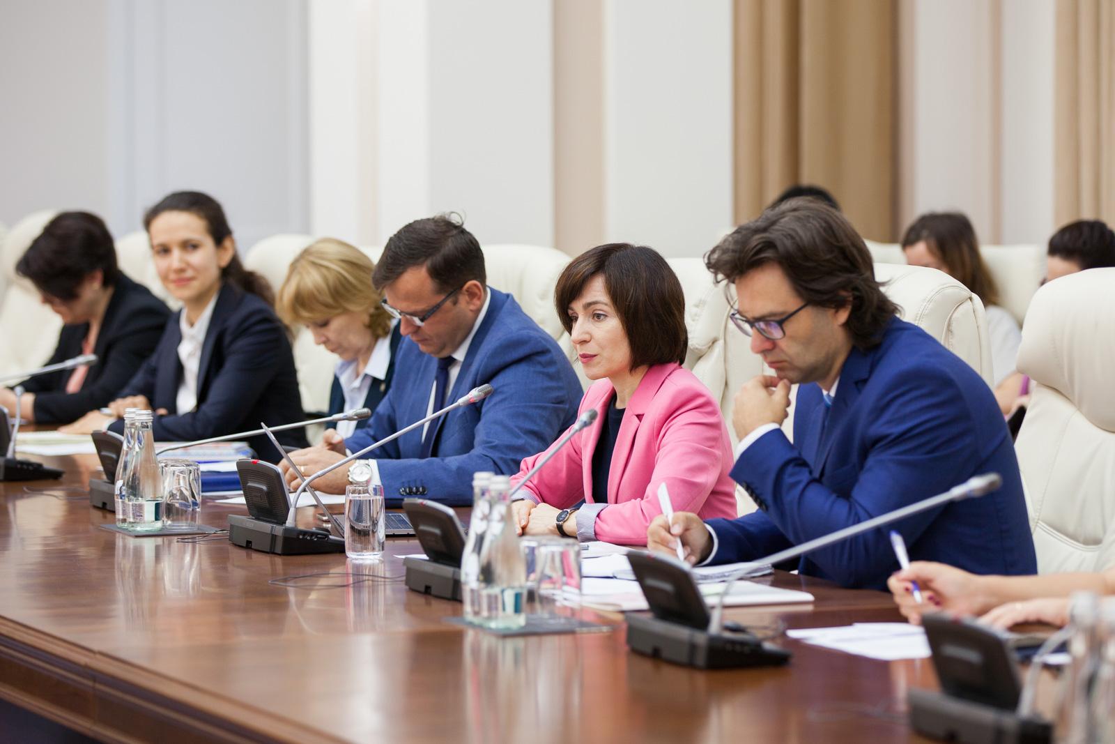 Maia Sandu, către Ambasadorii UE: Suntem determinați să facem reforme în folosul cetățenilor