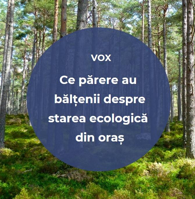 VIDEO | Ce părere au bălțenii despre starea ecologică din oraș