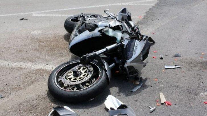 Accident rutier cu implicarea unui motociclist în satul Sturzovca