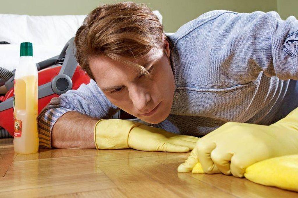 A fost descoperit secretul de ce bărbații rareori fac curățenie