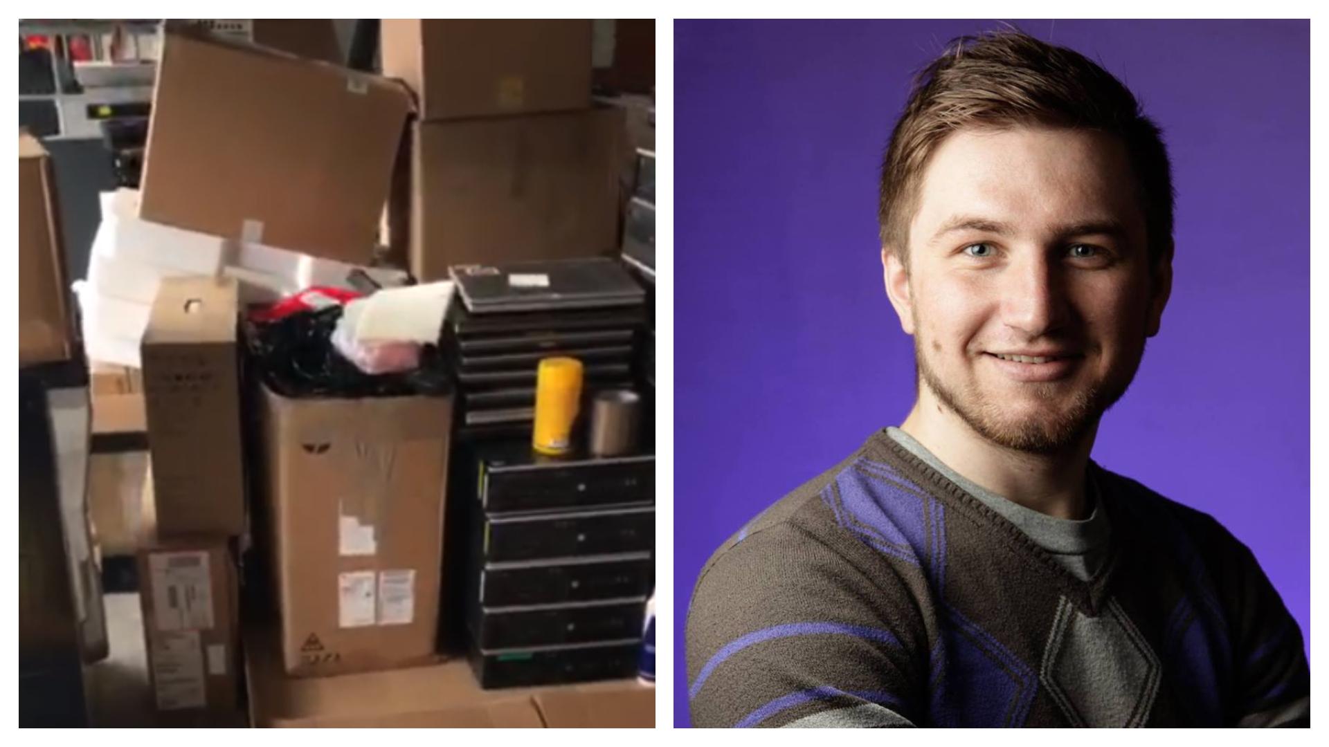 Un tânăr moldovean stabilit în Irlanda vrea să doneze  echipament IT centrelor comunitare din R. Moldova