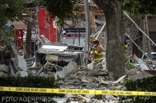Explozie de amploare într-o zonă comercială din Florida