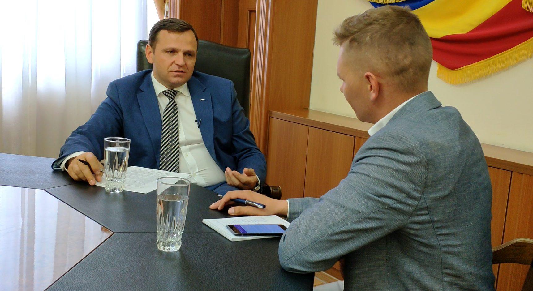VIDEO | Interviu // Andrei Năstase: Nu am venit la MAI pentru a da afară oamenii lor și a aduce oamenii mei