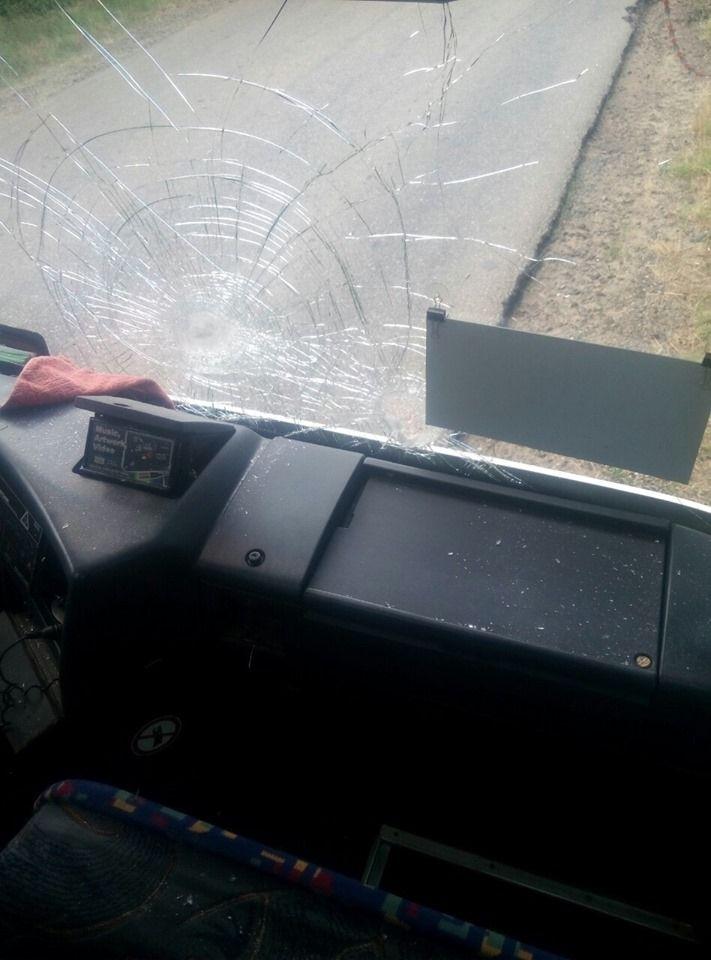 Un autocar cu moldoveni a fost atacat în Ucraina