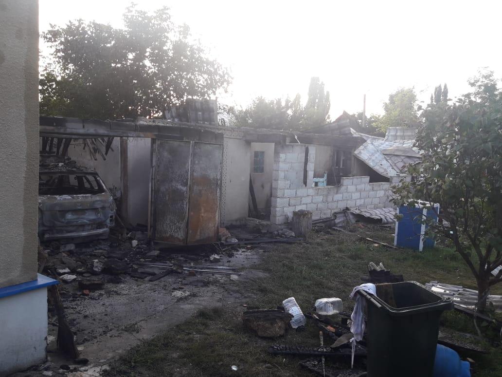 FOTO | Incendiu la Pelinia