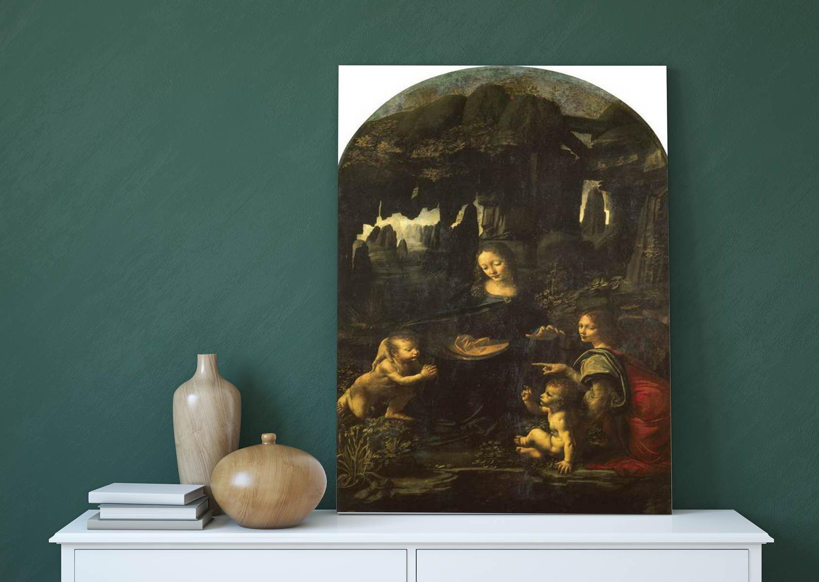 Un înger şi pruncul Iisus, descoperiţi sub unul dintre cele mai cunoscute tablouri ale lui da Vinci. Schiţele au fost găsite cu ajutorul tehnologiei folosită pentru prinderea lui Osama bin Laden