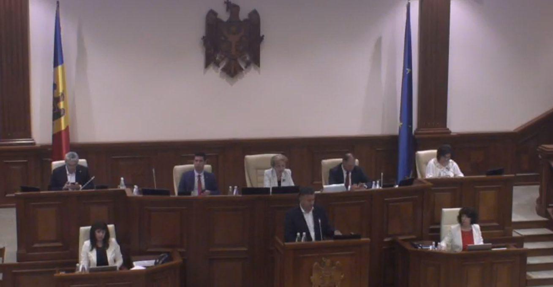 LIVE | Ședința Parlamentului Republicii Moldova