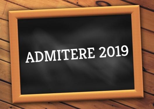 Admiterea 2019 la studii superioare de licență și de master