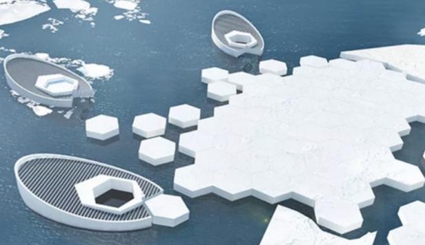 Inginerie extremă în lupta împotriva încălzirii globale: submarine care să producă gheaţă