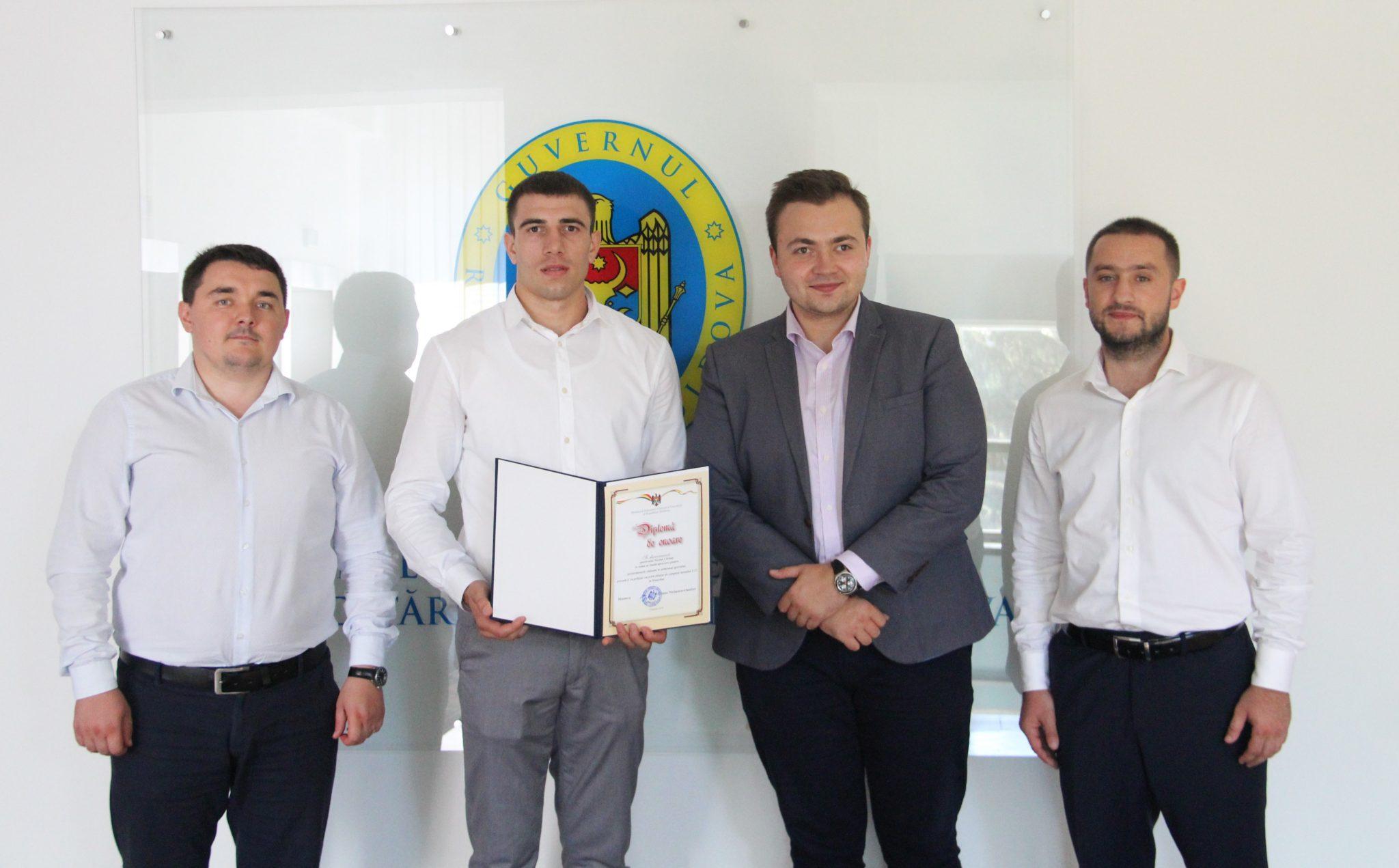 Nicolae Cărăuș- campion mondial la Muay Thai U-23