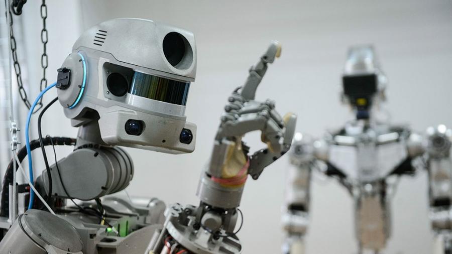 Россия отправила человекоподобного робота на МКС