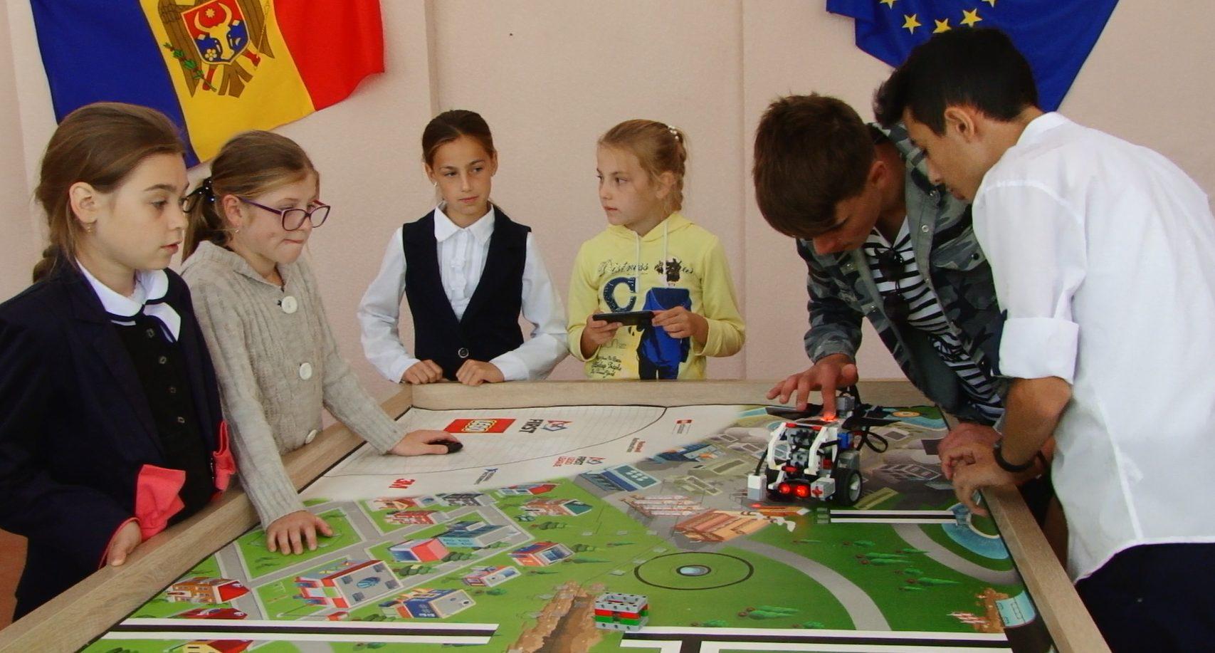 VIDEO | În Sarata Veche, Fălești s-a deschis un Centru vocațional pentru elevi
