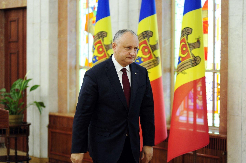 Президент Додон отправился с официальным визитом в Брюссель