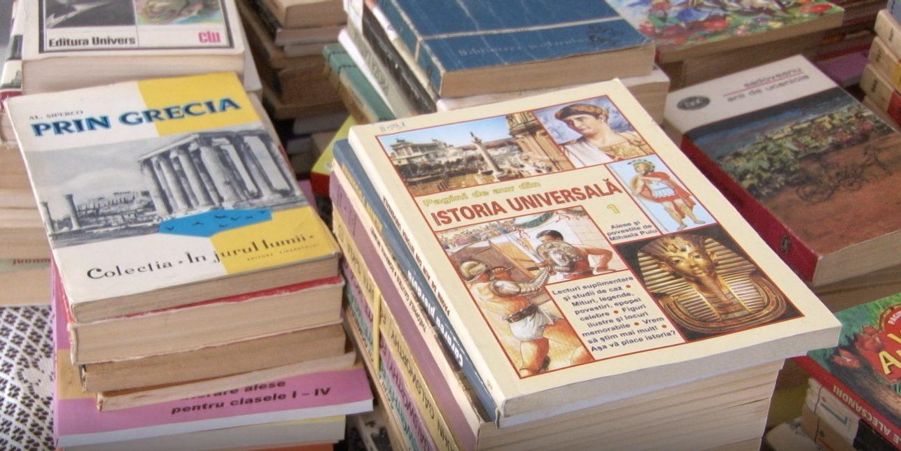 VIDEO | Peste trei mii de cărți românești vor fi donate instituțiilor de învățământ din Bălți