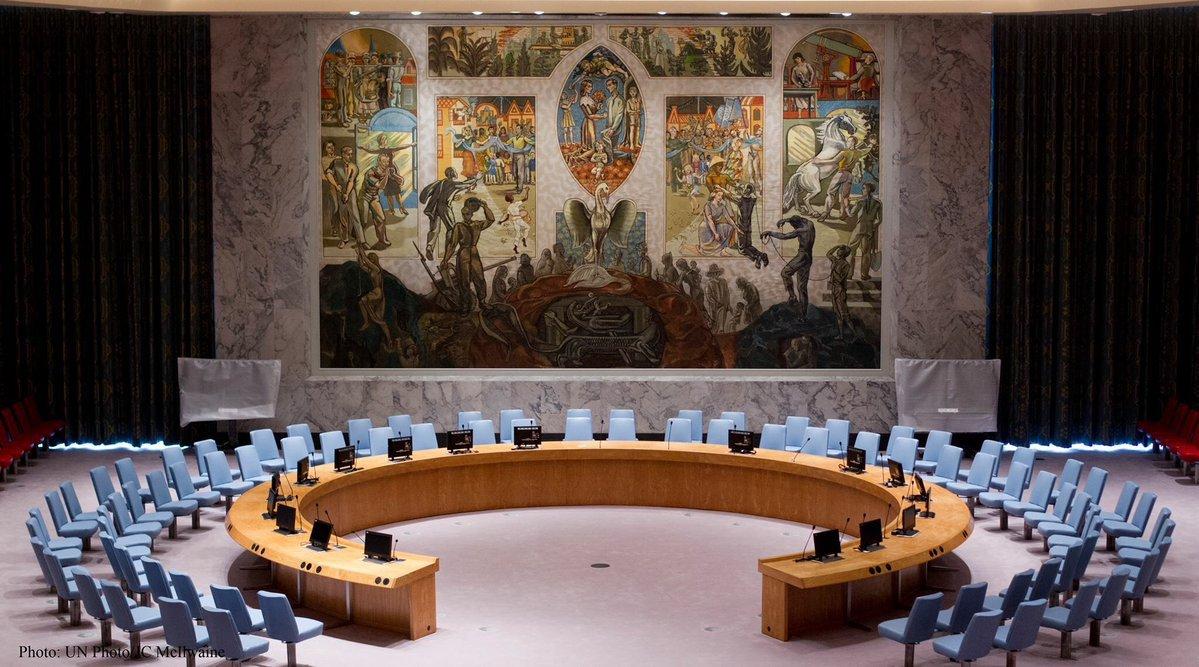 Россия возглавила Совет безопастности ООН