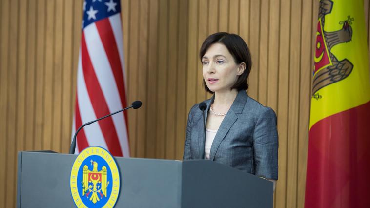 Maia Sandu va efectua o vizită de lucru în SUA