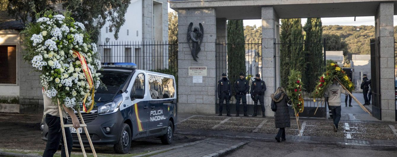 В Испании началась эксгумация останков Франко из мавзолея