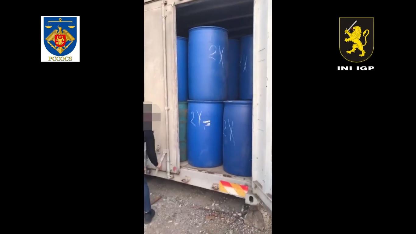 VIDEO   Contrabandă cu alcool etilic în valoare de 1,5 milioane de lei depistată la Ocnița