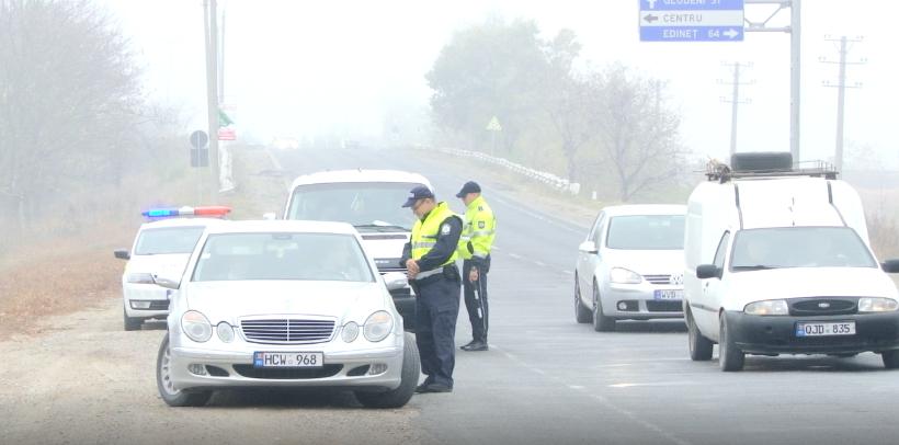 Полиция призвала бельцких водителей включать «противотуманки»