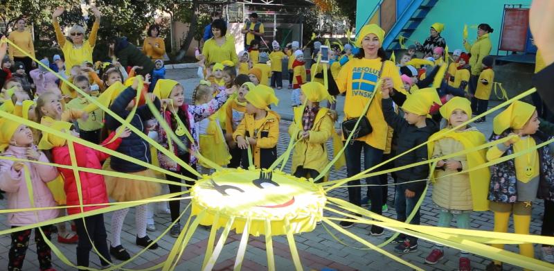 VIDEO | Flashmob inedit la o grădiniță din Bălți