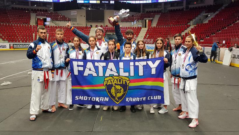 Бельцкие каратисты завоевали 11 медалей на чемпионате мира