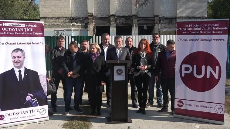 PMP-ul lui Băsescu îl susține pe Octavian Țîcu și echipa PUN la alegerile locale