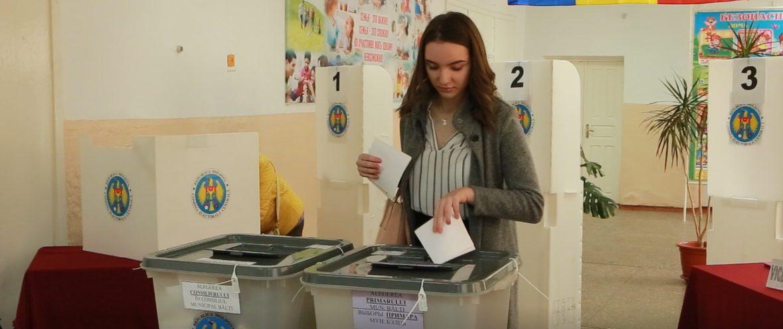 Un vot face schimbarea. Îndemnul unei tinere din Bălți