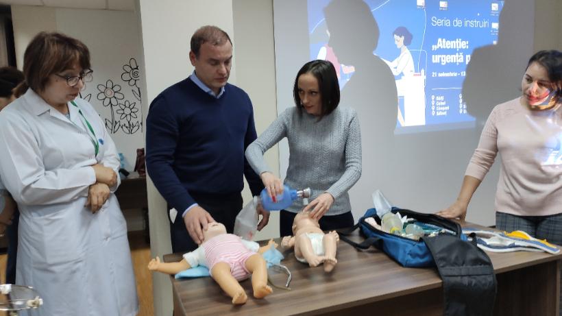 Медики северного региона Молдовы улучшили свои навыки оказания экстренной помощи детям