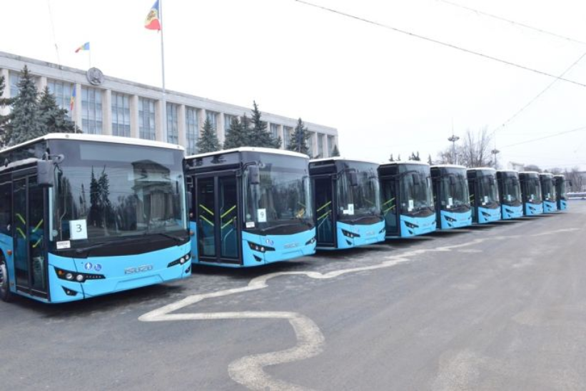 Rețineri în legătură cu licitația pentru cumpărarea ultimelor 35 de autobuze noi din Chișinău