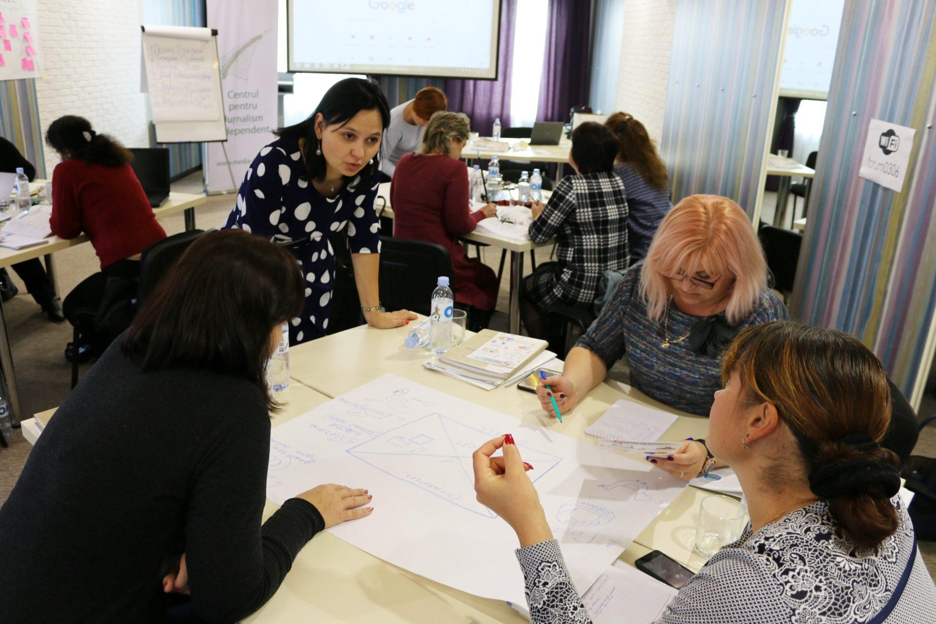 ЦНЖ организует первый тренинг в области медиаобразования в Бэлць. Целевая группа: педагоги северных районов страны, преподающих на русском языке