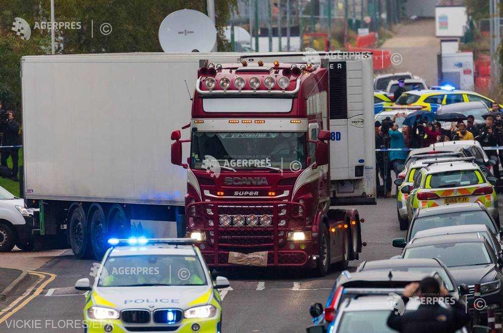 Poliţia din Vietnam a arestat opt persoane în ancheta privind 'camionul morţii' din Marea Britanie