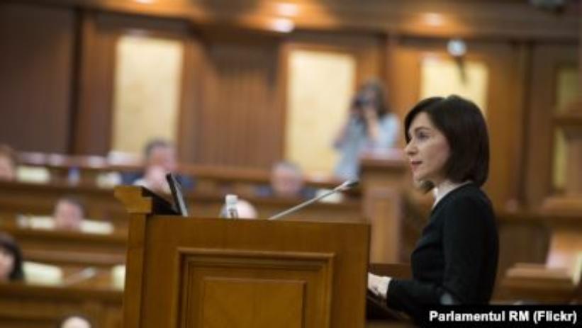 Cum Maia Sandu ar putea reveni în Parlament