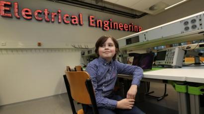 Девятилетний вундеркинд бросил университет из-за конфликта с руководством