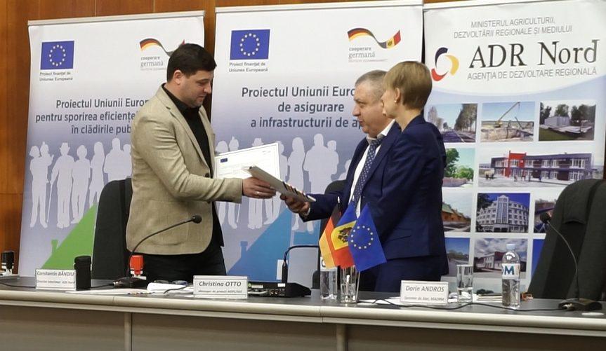 На севере Молдовы дали старт шести проектам по обновлению инфраструктуры