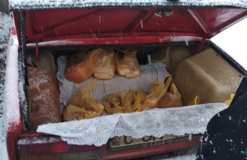 ФОТО | Более 20 протоколов и 97 кг изъятой продукции. ANSA провела проверку рынков и магазинов на севере Молдовы