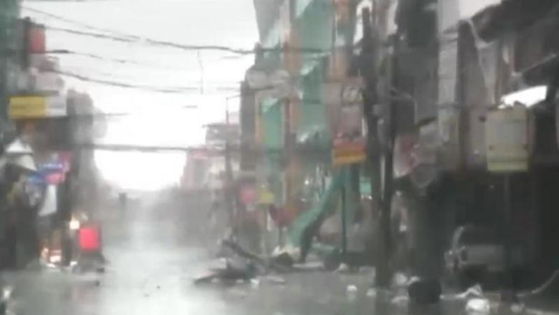 Nordul Filipinelor, răvăşit de taifunul Kammuri
