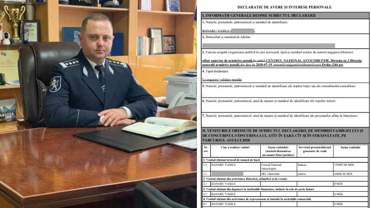 Cu ce avere vine în funcție noul comisar de Bălți, Vasile Banaru