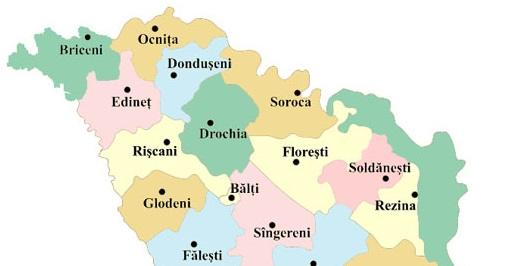 Care sunt cele mai bogate și cele mai sărace raioane din nordul Republicii Moldova