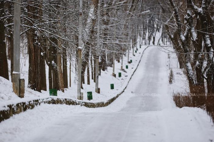 Ninge în aproape toată țara! Ce temperaturi se vor înregistra astăzi